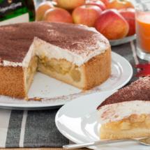 Apfel-Weinkuchen