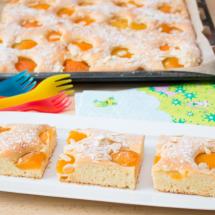 Aprikosenkuchen für Kids
