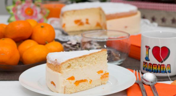 Mandarinen Sahne Torte Lieblings Backrezepte