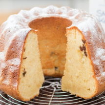 Mandel-Rosinen-Kuchen