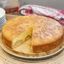 Birne-Aprikose-Kokos-Kuchen
