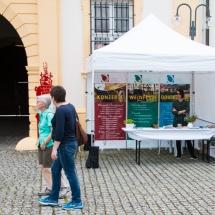 """Infostand """"Tag der offenen Gartentür"""" am Schloss Oberschwappach"""