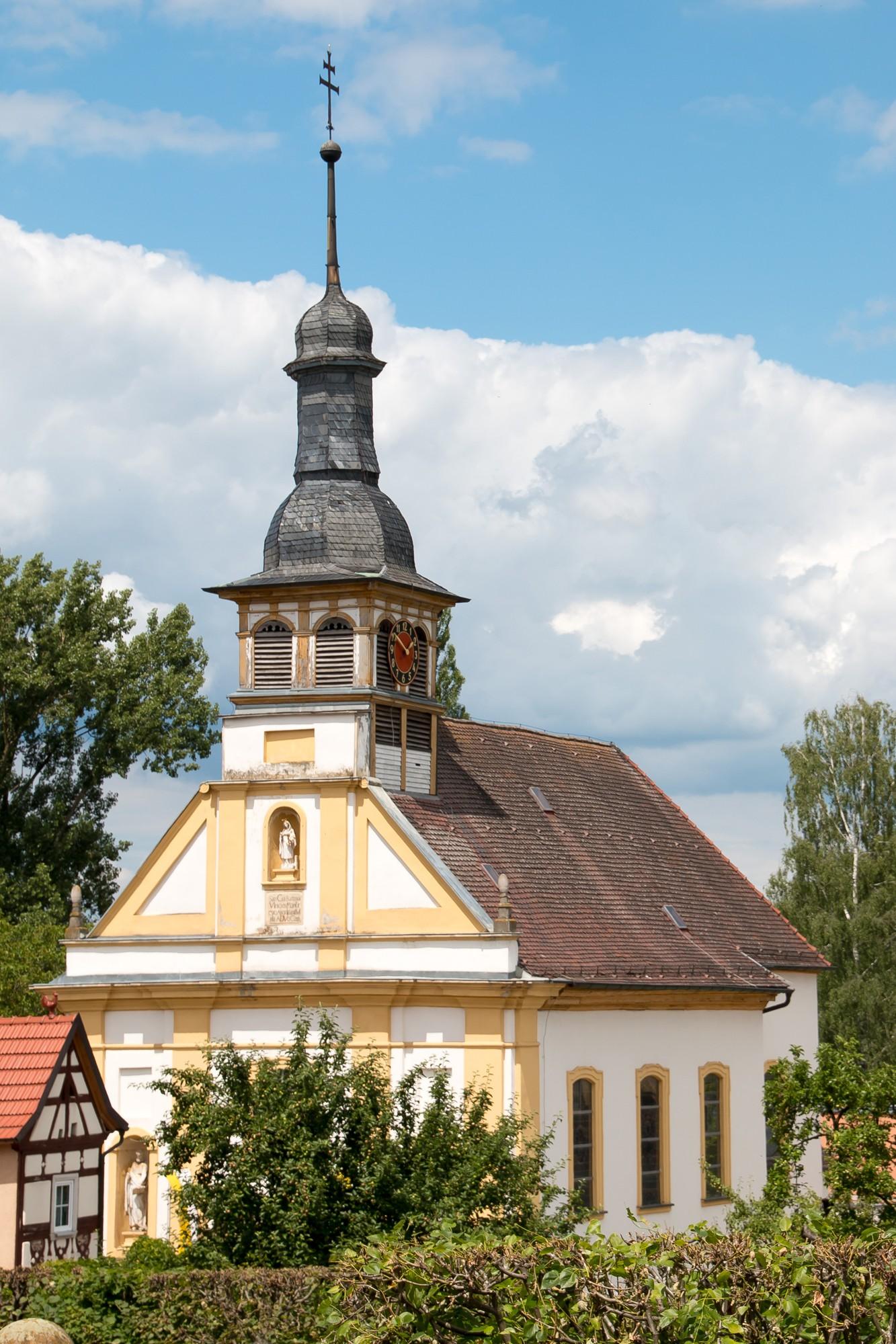 Kirche St. Barbara Oberschwappach