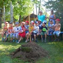 Die Schloss-Kindergartenkinder