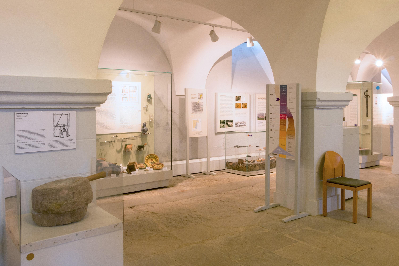 Archäologische Ausstellung Schloss Oberschwappach