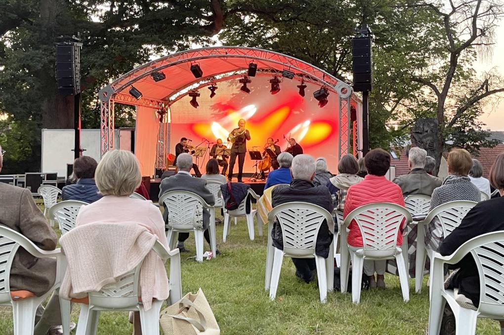 Mozartkonzert in Oberschwappach mit dem Bamberger Streichquartett 2021
